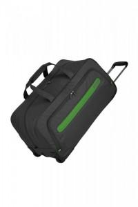 Travelite Madeira Wheeled Duffle 2w cestovní taška 60 l Anthracite/Green