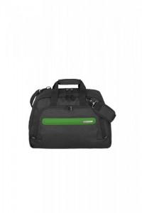 Travelite Madeira Weekender extra lehká cestovní taška 30 l Anthracite/Green