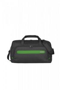 Travelite Madeira Duffle extra lehká cestovní taška 45 l Anthracite/Green