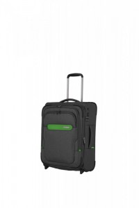 Travelite Madeira 2w S palubní cestovní kufr TSA 55 cm 41/47 l Anthracite/Green