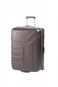 Travelite Vector 2w L cestovní kufr TSA 73 cm 110 l Brown