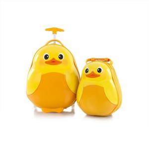 Heys Travel Tots Kids dětská sada – cestovní kufr 46 cm a batoh 33 cm Duck