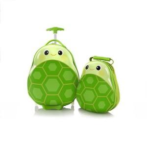 Heys Travel Tots Kids dětská sada – cestovní kufr 46 cm a batoh 33 cm Turtle