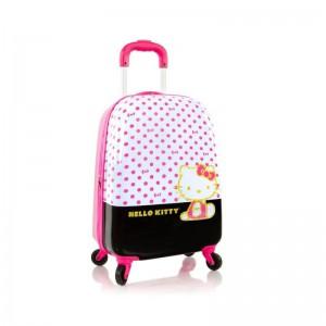 Heys Kids 4w dětský cestovní kufr 46 cm Hello Kitty