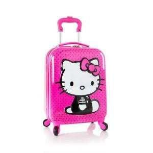 Heys Kids 4w 3D dětský cestovní kufr 46 cm Hello Kitty