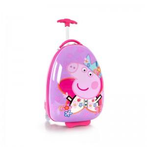 Heys Kids 2w dětský cestovní kufr 46 cm Peppa Pig