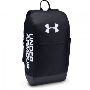UA Patterson Backpack-BLK Black / Black / White