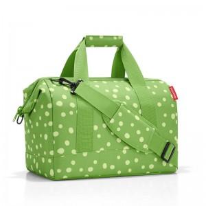 Reisenthel Allrounder M brašna ve tvaru doktorského kufříku 40 cm Spots Green