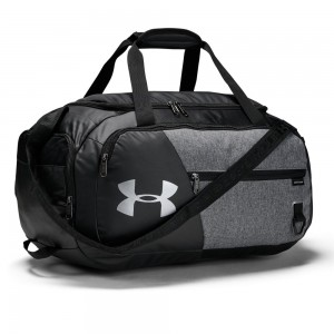 Undeniable Duffel 4.0 SM-GRY Graphite Medium Heather / Black / Black