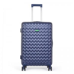 Kabinový cestovní kufr United Colors of Benetton Rider S – modrá 34l