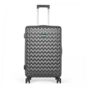 Kabinový cestovní kufr United Colors of Benetton Rider S – tmavě šedá 34l
