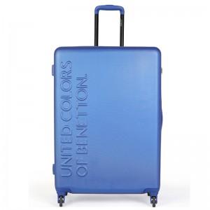 Cestovní kufr United Colors of Benetton Timis L – modrá 95l