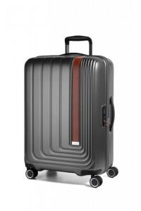 March Beau Monde L cestovní kufr PC/ABS TSA 72 cm 101 l Anthracite Metallic