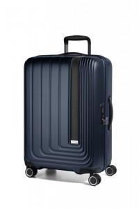 March Beau Monde L cestovní kufr PC/ABS TSA 72 cm 101 l Navy Metallic