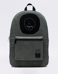 Batoh Herschel Supply Basquiat Daypack DKOLIVE Střední (21 – 30 litrů)