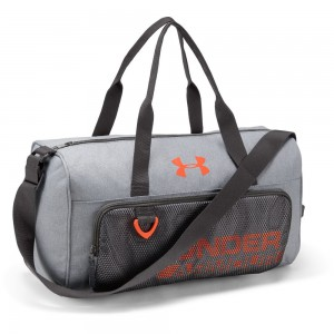 Boys Armour Select Duffel-GRY