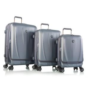 Heys Vantage Smart Luggage S,M,L Slate Blue – sada 3 kufrů