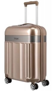 Titan Spotlight Flash 4w S,M,L Gold metalic – sada 3 kufrů