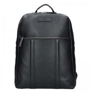 Pánský kožený batoh Daag Boston – černá