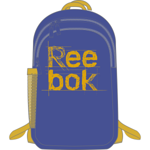 Reebok Kids Foundation Backpack modrá Jednotná 5452101
