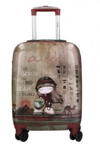 Anekke Kabinový cestovní kufr Egypt Exploradora 29890SL