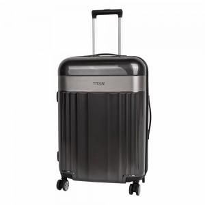 Titan Skořepinový cestovní kufr Spotlight Flash 4w M Anthracite 69 l