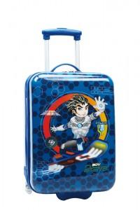 Madisson Dětský kabinový cestovní kufr B75118 28 l – modrá