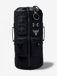 Taška Under Armour Project Rock 60 Gym Bag-Blk 748416