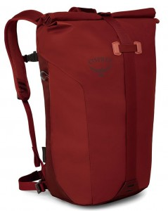 Osprey Transporter Roll Ruffian Red