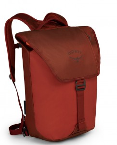 Osprey Transporter Flap Ruffian Red