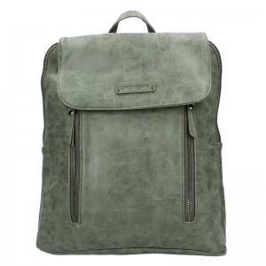 Moderní dámský batoh Enrico Benetti Tinna – olivová 0,650l