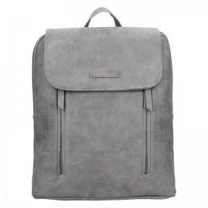 Moderní dámský batoh Enrico Benetti Tinna – šedá 0,650l