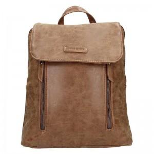 Moderní dámský batoh Enrico Benetti Tinna – hnědá 0,650l