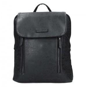 Moderní dámský batoh Enrico Benetti Tinna – černá 0,650l