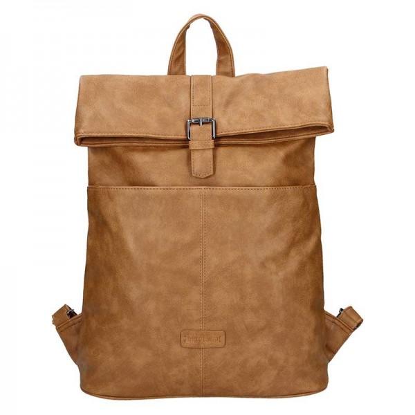 Moderní dámský batoh Enrico Benetti Ninna – hnědá