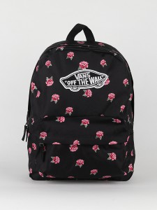 Batoh Vans Wm Realm Backpack Black Rose Černá 500080