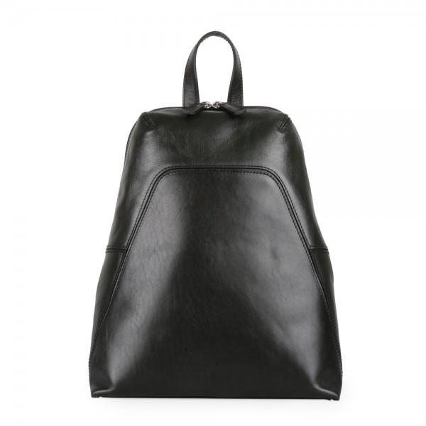 Elega Dámský kožený batoh Merry 67245 – tmavě zelená