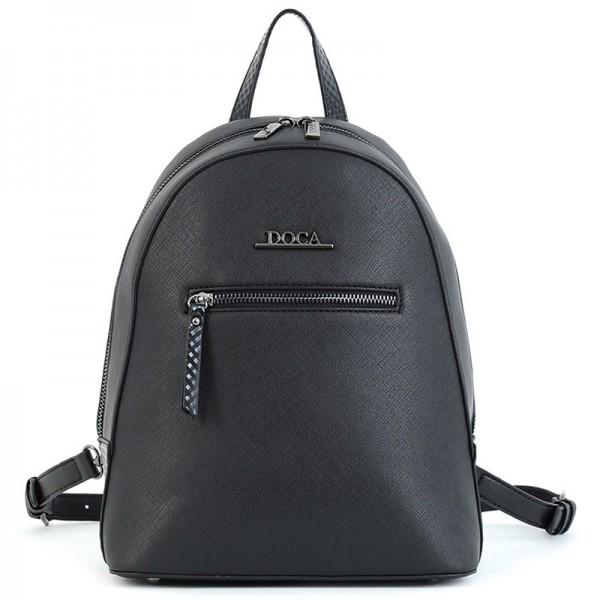 Dámský batoh Doca 15653 – černá