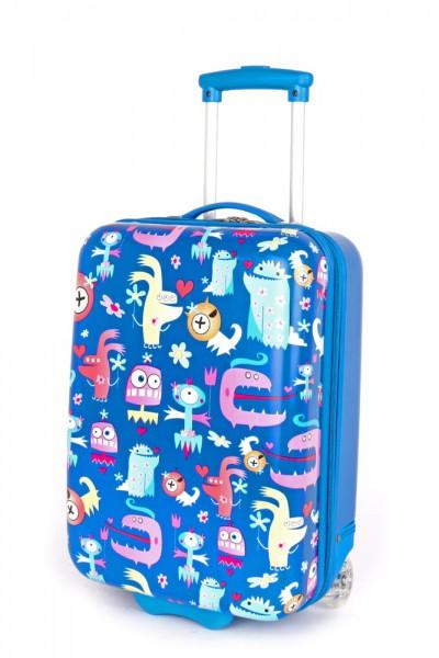 Madisson Dětský kabinový cestovní kufr A85118 28 l – modrý