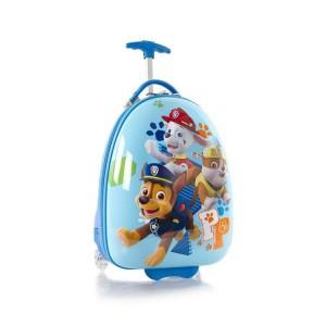 Heys Kids 2w Paw Patrol dětský cestovní kufr 46 cm Sky Blue