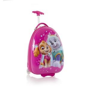 Heys Kids 2w Paw Patrol dětský cestovní kufr 46 cm Magenta