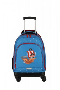 Travelite Mini-Trip 4w S dětský cestovní kufr 53 cm Pirate