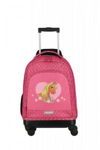 Travelite Mini-Trip 4w S dětský cestovní kufr 53 cm Pony