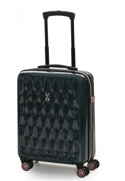 ROCK LONDON Kabinový cestovní kufr Diamond S 32 l – tmavě zelená