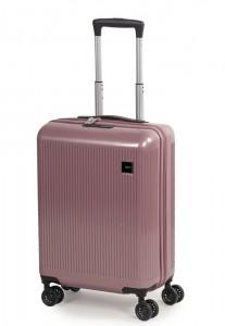 ROCK LONDON Kabinový cestovní kufr Windsor S 38 l – růžová