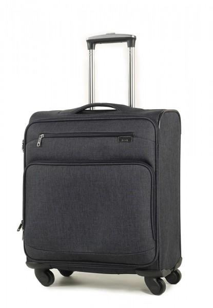 ROCK LONDON Kabinový cestovní kufr Madison 56cm S 45 l – černá