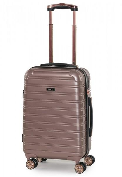 ROCK LONDON Kabinový cestovní kufr Chicago S 35 l – růžová