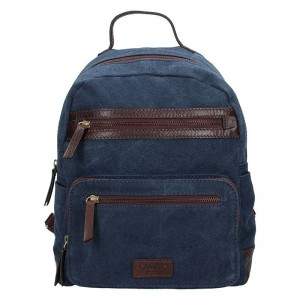 Pánský batoh Lagen Rasta – modro-hnědá