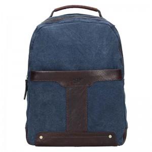 Pánský batoh Lagen Mosis – modro-hnědá