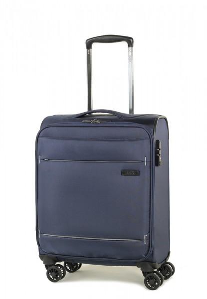 ROCK LONDON Kabinový cestovní kufr Deluxe-Lite S 30 l – tmavě modrá